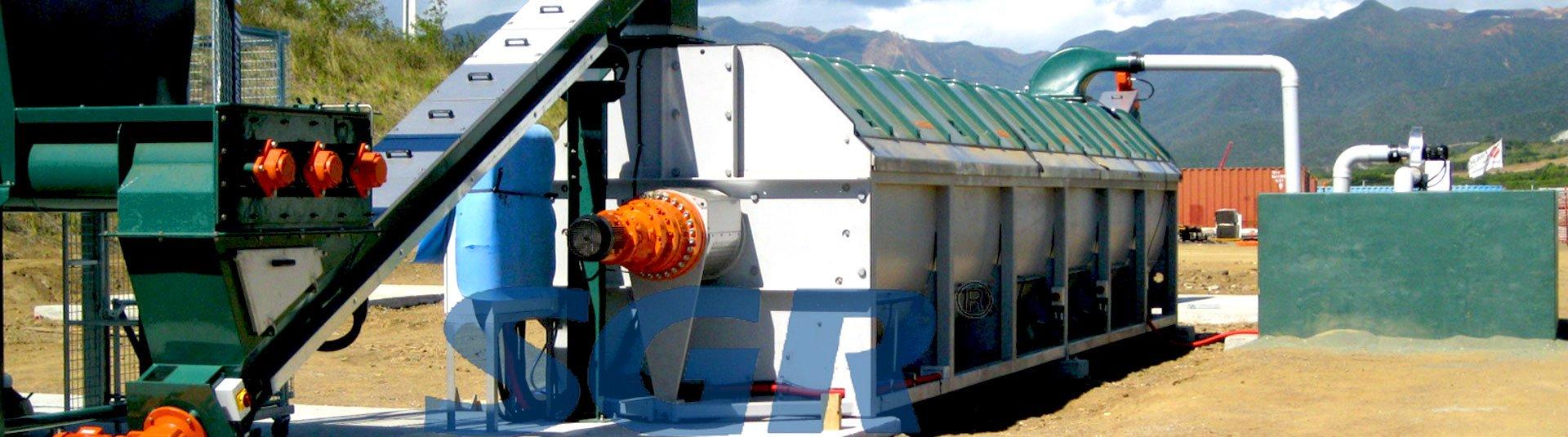 好氧仓式发酵系统搅拌减速机